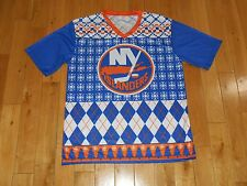 New NEW YORK ISLANDERS Mens NHL Team Ugly Sweater SGA Promo Hockey JERSEY Sz XL