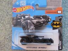 Hot Wheels 2018 #001/365 Liga De La Justicia Batimóvil Batman hardware negro nuevo casting