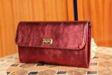 f86db06f37af VERSACE 19.69 Women s 100% Leather Red Clutch Bag Free Shipping New with  Tags