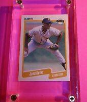 "Jose Uribe 1990 Fleer #74 ""Birth Year Error"" PSA Rare Authentic Card Solid MINT"