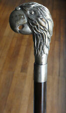 Ancienne Canne de Marche Argent No 4. Vintage Sterling Silver Walking Stick.