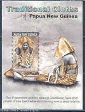 PAPUA NEW GUINEA 2012 TRADITIONAL CLOTHS SOUVENIR SHEET   MINT  NH