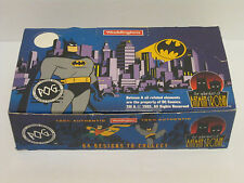 The Adventures of Batman & Robin Waddingtons Pogs Complete New In Box 25 Packs