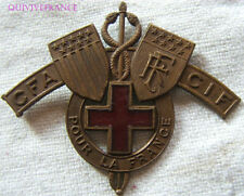 BG4058 - INSIGNE CROIX ROUGE USA EN FRANCE WWI