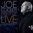 JOE COCKER Fire It Up Live 2CD BRAND NEW
