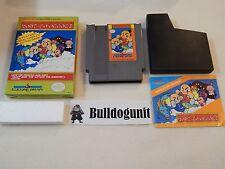 Kung-Fu Heroes Nintendo Nes Game Complete Box Manual Rev-A Variant Cib