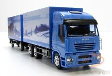 AWM Iveco Stralis 480 Kofferzug 9. Christmas Edition Junge Werbemodell 1:87 OVP
