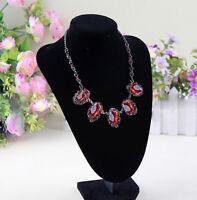 Présentoir velours buste pour collier bijoux Boucles d'oreilles  IY