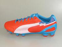 Puma Fußballschuh evoSPEED 1 K FG 102525 06 orange-white-oce. +Neu+ alle Größen