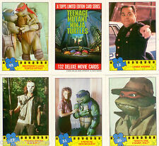 Base Card Set:1990 Teenage Mutant Ninja Turtles Movie Card Set (132)