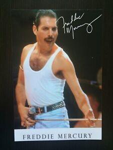 Freddie Mercury - Signed Printed Photo 6x4