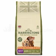 Harringtons Natural Adult Senior Dry Dog Food Chicken and Rice2kg
