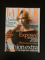 Tatler (UK) Fashion Magazine February 2008 - Charlize Theron, Marc Quinn