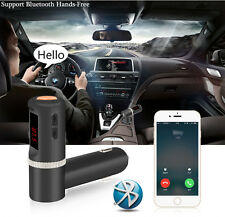 UK Hands-Free Bluetooth Car Mp3 Player FM Transmitters Dual 2.1A Car Chargers