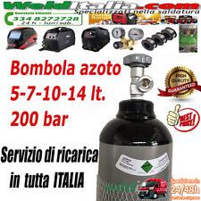 BOMBOLA AZOTO DA 5-7-10-14 LT. 200 BAR EE