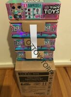 LOL Surprise TINY TOYS - FULL case / Display of 18 toy packs -IN STOCK FAST POST