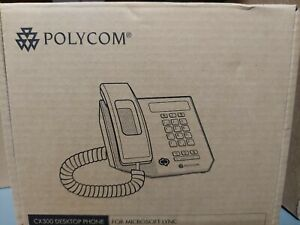 POLYCOM CX300 DESKTOP PHONE 2705-09-1110