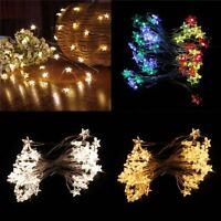 Battery Operated Pathway Star Lamp Led String Lights Home Decor Fairy Light