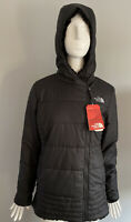 NWT The North Face Women's Mossbud Reversible Parka Black Size S