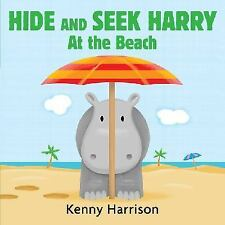 Hide and Seek Harry at the Beach-ExLibrary