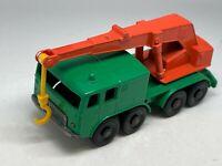 Matchbox Lesney No 30 8 Wheel Faun Crane Truck - VNM