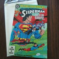Reign of the Supermen Superman Back For Good #82 Comic Book October 1993