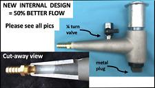 Best Flowing Cast Sand Blast Cabinet Metering Valve Media Harbor Freight Upgrade