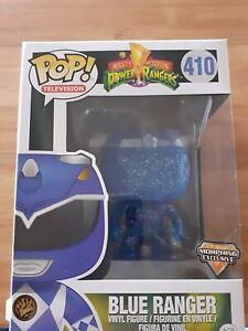 Funko POP! Power Rangers Morphing Blue Ranger Exclusive POP! Vinyl #410