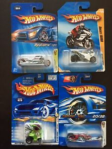 Hot Wheels First Edition Motorcycle Airy 8 Hammer Sled Ducati 1098R Hyper Mite