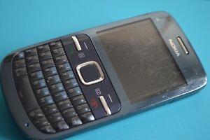 Nokia C3-00 - Slate grey (Unlocked) Mobile Phone