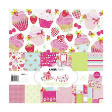 *A&B* KAISERCRAFT Scrapbooking Paper Pack - Tea Party - PK447