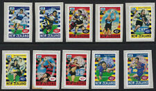 NEW ZEALAND :1999 Rugby Super 12 self-adhesive set SG2258-67 MNH