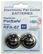 3/4 INCH Replacement  Strap + High Tech4 RFA 67 BATTERIES PetSafe Compatible