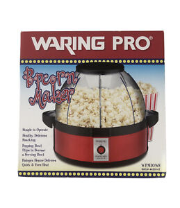 Waring Pro Popcorn Maker WPM10 Professional Popcorn Machine