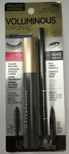 LOREAL Voluminous Original Mascara Black + Infallible Eyeliner 702 WATERPROOF