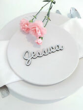 Centros y decoración de mesas de boda de color principal plata