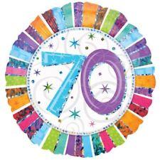 Radiant Birthday 70 Balloon Birthday Celebration Party Decorations