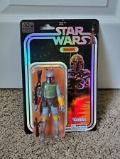 Star Wars Boba Fett 40th anniversary Black Series SDCC Factory Sealed