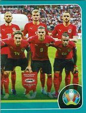 Panini Euro Em 2020 Preview Adesivo Stampatria Aut 3 Squadra Foto