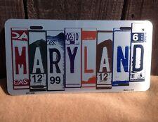 Maryland License Plate Art Wholesale Novelty Bar Wall Decor