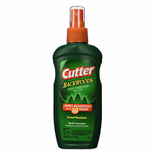 Cutter Backwoods Insect Mosquito Repellent 6oz Pump Spray 25% DEET 10-Hour Spray