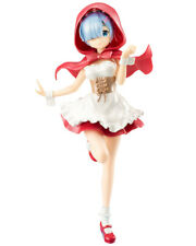 Re: Zero Rem Red Riding Hood Pearl Color Ver. Character SSS Figure Statue Anime