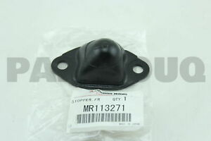 MR113271 Genuine Mitsubishi STOPPER,FR SUSP UPR ARM