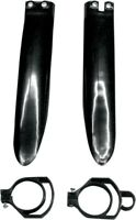 UFO Black Fork Guards For Kawasaki KX 80 /85 100 98-13 KA03711-001