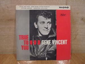 Gene Vincent – True To You (UK- Vinyl, 7″, EP )1963-Capitol Records EAP1 20461