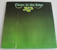 YES CLOSE TO THE EDGE USA PRESS LP + INNER SD 7244 ATLANTIC PROG ROCK 1972 VG+