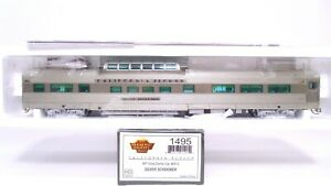 Broadway Limited HO California Zephyr CZ WP Vista Dome Car Silver Schooner 1495