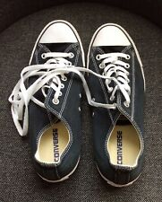 CONVERSE ALL STAR NAVY LOW SHOES TRAINERS UK 9
