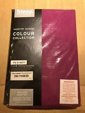 King Size Magenta Duvet Set With Two Pillow Slips - New - Bargain