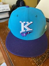 New Charlotte Knights Throwback Minor League Baseball Fitted Cap 7-1/2